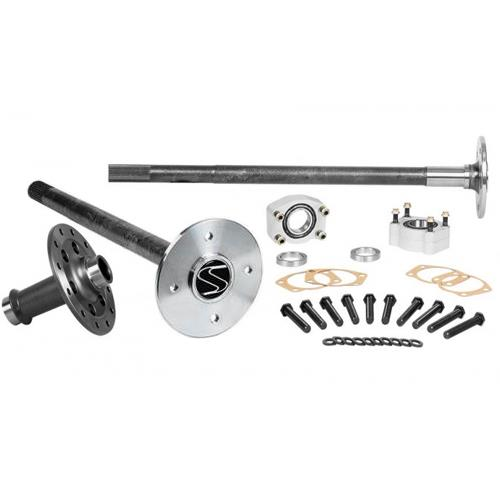 Strange Mustang Axle, Spool, & C-Clip Eliminator Kit  - 4-Lug - 35 Spline (86-93)