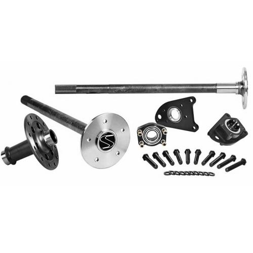 Strange Mustang Axle, Spool, & C-Clip Eliminator Kit  - 35 Spline - Cobra Brakes (99-04)