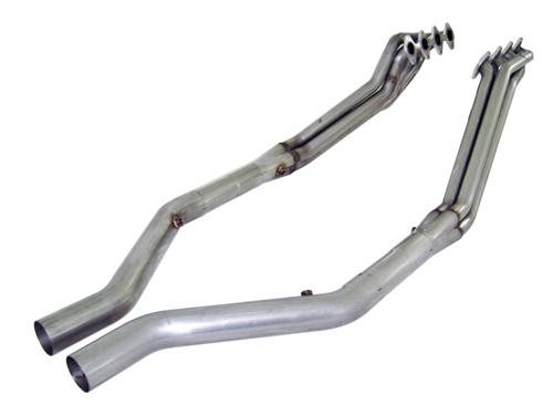 "Stainless Works Mustang Headers w/ 3"" Off Road Lead Pipes (05-10) GT STW-M05H175OR"