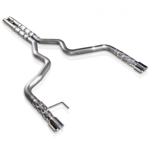 "Stainless Works Mustang Catback Exhaust Kit w/ H-Pipe - 3"" (2015) GT Factory Connection 5.0 M15CB"