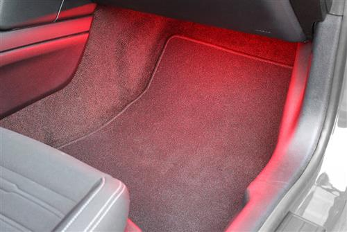 Starkey Mustang Footwell Lighting Kit - Red (05-14) 3440R