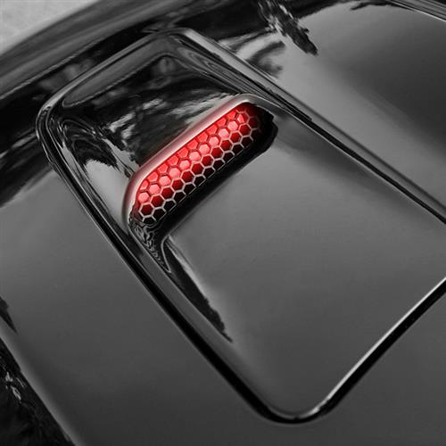 Starkey Mustang Hood Mounted Turn Signal Light Kit  - Red (2015) GT