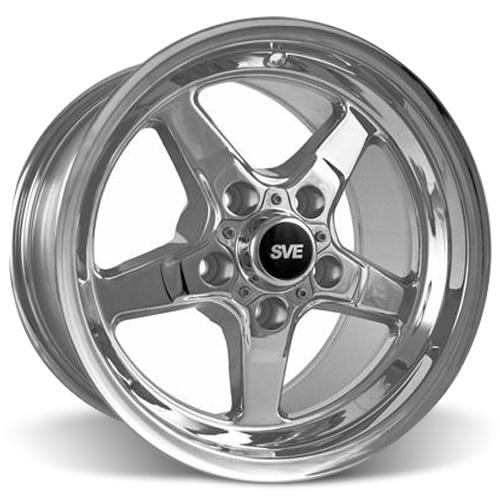SVE Mustang Drag Wheel 15X10 Chrome (94-04) - SVE Mustang Drag Wheel 15X10 Chrome (94-04)