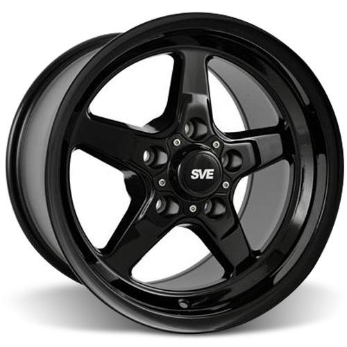 SVE Mustang Drag Wheel 15X10 Gloss Black (05-14) - SVE Mustang Drag Wheel 15X10 Gloss Black (05-14)