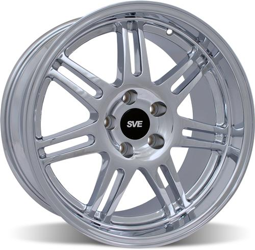 SVE Mustang Deep Dish Anniversary Wheel - 18x10 Chrome (94-04)
