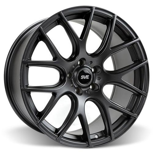 SVE  Mustang Drift Wheel - 19X9.5 Flat Black (05-15) - SVE  Mustang Drift Wheel - 19X9.5 Flat Black (05-15)