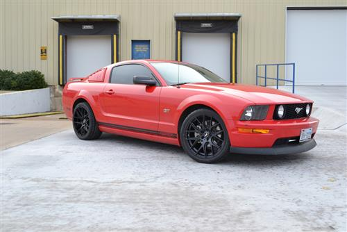 SVE  Mustang Drift Wheel - 19X9.5 Flat Black (05-16) - SVE  Mustang Drift Wheel - 19X9.5 Flat Black (05-16)