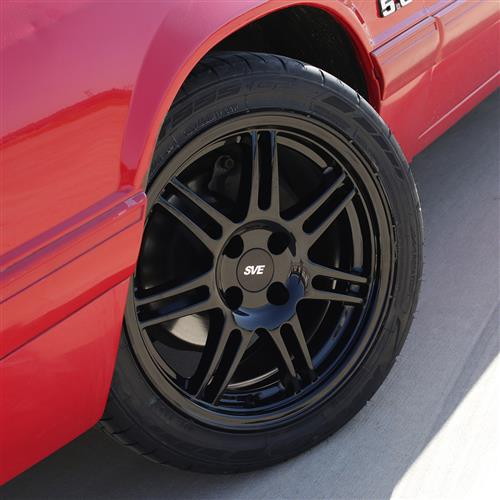 SVE Mustang Anniversary Wheel - 17x9  - Gloss Black (79-93)