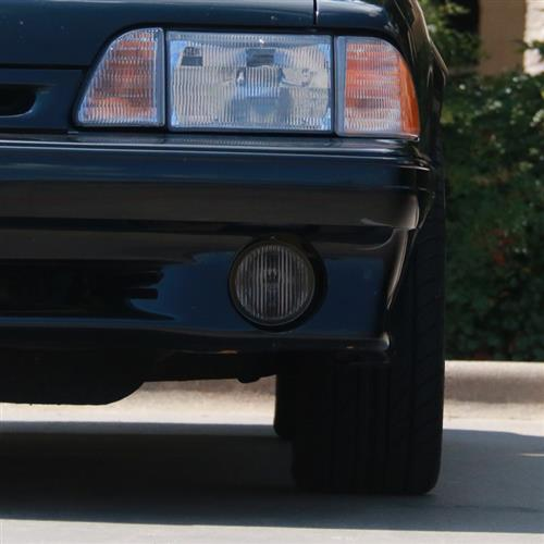 Mustang Smoked Fog Light Tint (87-93) GT - Mustang Smoked Fog Light Tint (87-93) GT