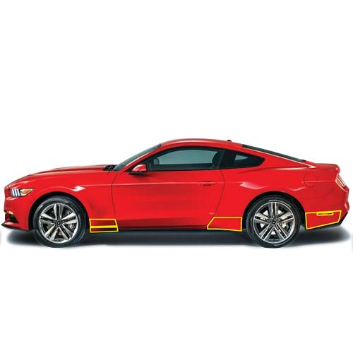 Anchor Room Mustang Front And Rear Quarter Panel Paint Protection Film (15-16)