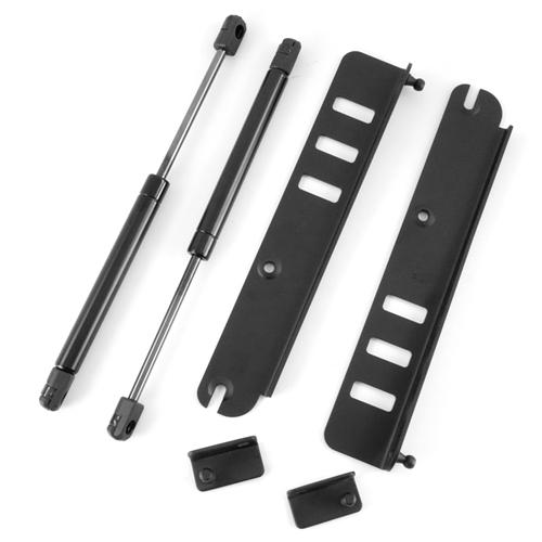 Mustang Hood Strut Kit Black (99-04)