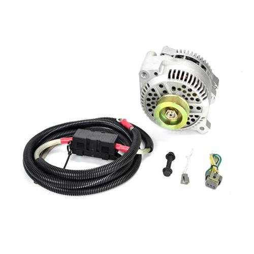 SVE Mustang 130 Amp Alternator Full Upgrade Kit (86-93) 5.0L 5.8L