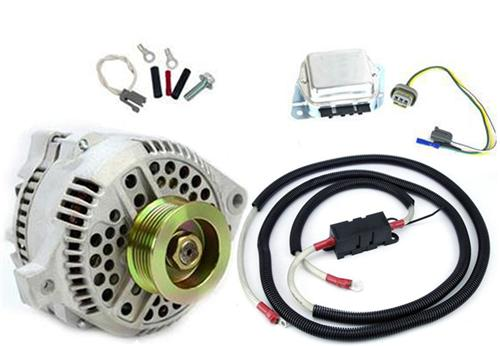 SVE Mustang 130 Amp Alternator 1g to 3g Upgrade (79-85)