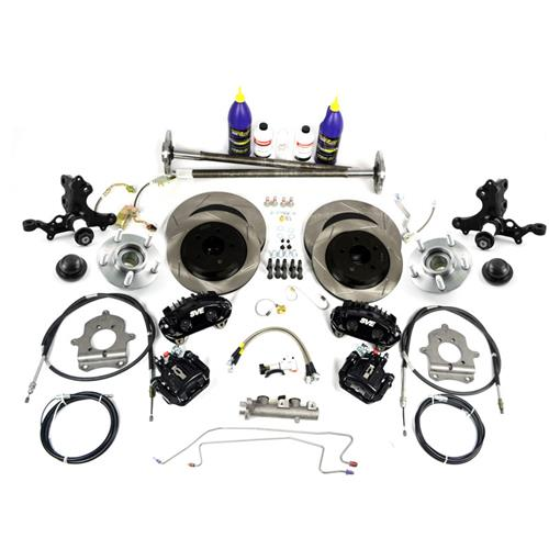 SVE  Mustang 5-Lug Conversion Kit - 28 Spline Black (87-92) - SVE  Mustang 5-Lug Conversion Kit - 28 Spline Black (87-92)