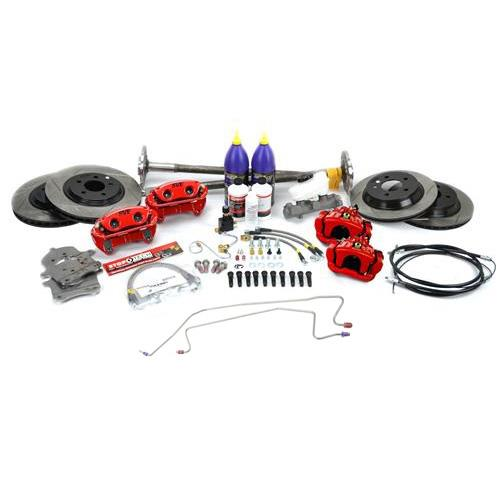 SVE Mustang 5-Lug Conversion Kit, 31 Spline Red (87-92)