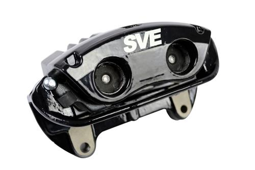"SVE Mustang 13"" Cobra Style Front & Rear Brake Kit  Black (94-04)"