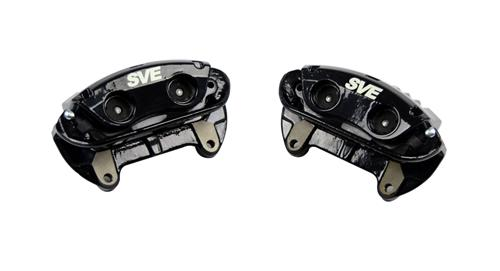 SVE Mustang Cobra Style Front Brake Caliper Kit Black (94-04)