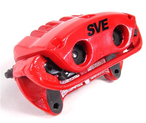 SVE Mustang Cobra Style Front & Rear Brake Caliper Kit Red (94-04)