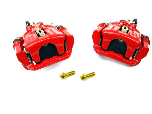 SVE Mustang Cobra Rear Brake Caliper Kit Red (94-04)