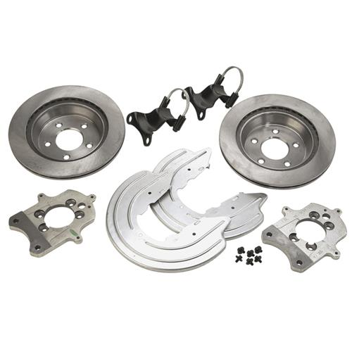 SVE Mustang Cobra Rear Brake Conversion Kit Black (94-04) GT-V6