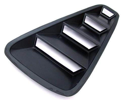 Mustang Quarter Window Louvers (05-09)