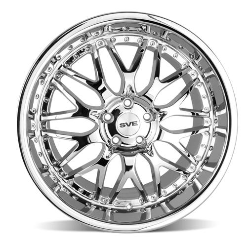 SVE Mustang Series 3 Wheel - 20x10 Chrome (05-15)