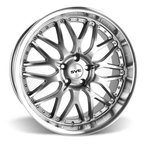 SVE Mustang Series 3 Wheel - 20x10 Gunmetal w/ Mirror Lip (05-15)