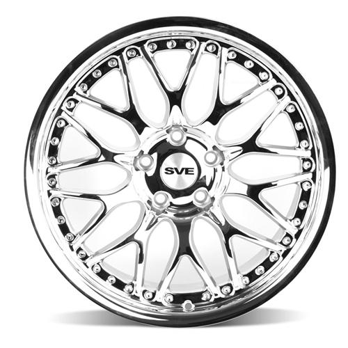 SVE Mustang Series 3 Wheel - 18x10 Chrome (94-04)