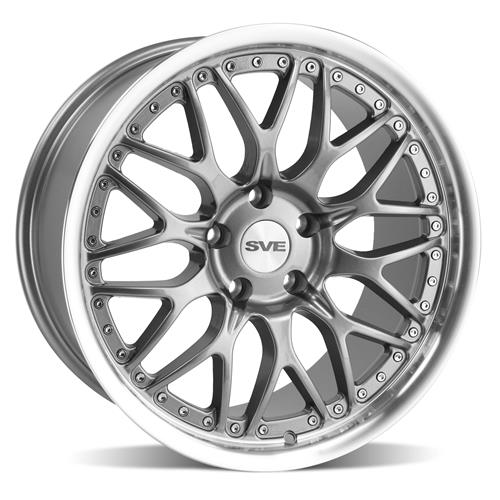 SVE Mustang Series 3 Wheel - 18x9 Gun Metal (94-04)