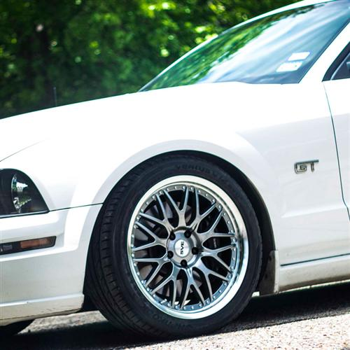 SVE Mustang Series 3 Wheel - 19x10 Gun Metal (05-15)