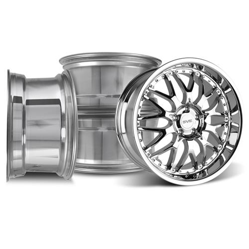 Mustang SVE Series 3 Wheel Kit - 19x9/10 Chrome (05-16)