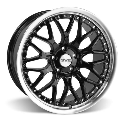 Mustang SVE Series 3 Wheel - 19x9 Gloss Black (05-16)