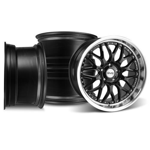 Mustang SVE Series 3 Wheel Kit - 19x9/10 Gloss Black (05-16)