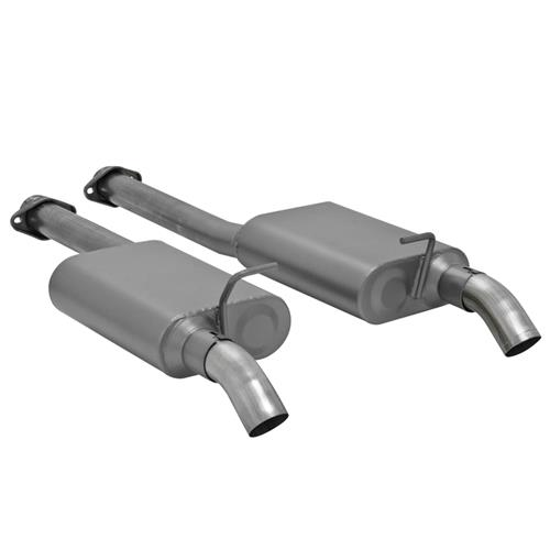 "SVE Mustang 2.5"" Off Road H-Pipe & Dump Exhaust Kit (86-93)"
