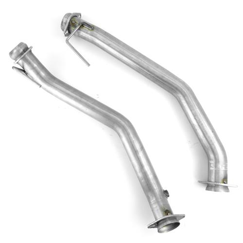 "Mustang 2.5"" Off Road X-Pipe & Dump Exhaust Kit (86-93) 5.0"