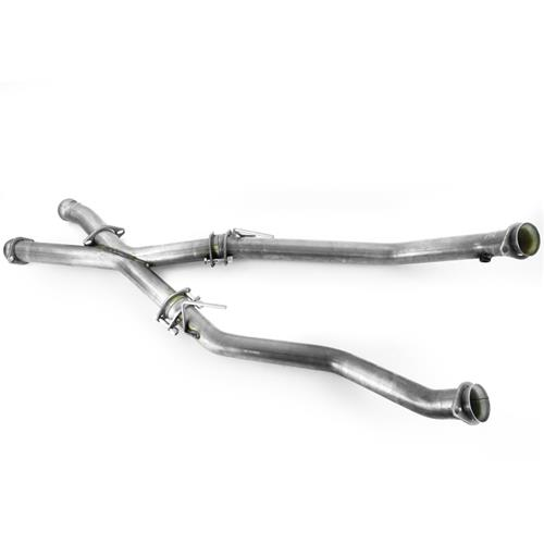 "SVE Mustang 2.5"" Off Road X-Pipe (86-93)"
