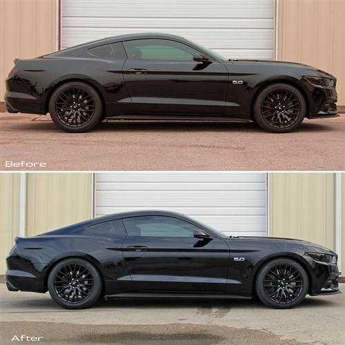 SVE Mustang Progressive Rate Lowering Springs (2015)