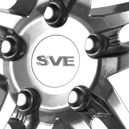 SVE Mustang Series 2 Wheel - 18x10 Gun Metal w/ Machined Lip (94-04)