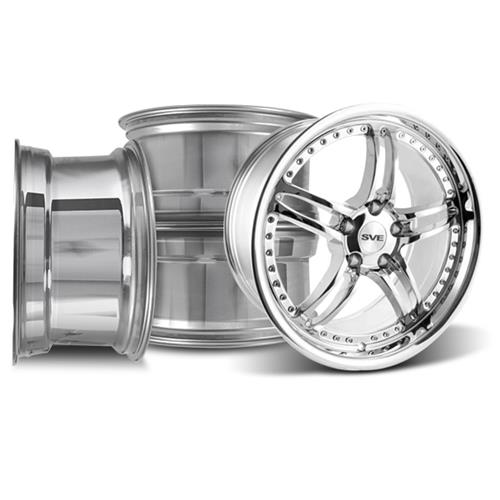Mustang SVE Series 2 Wheel Kit - 19x9/10 Chrome (05-14)