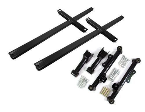 Mustang SVE Rear Control Arm And Subframe Connector Kit Black (79-04)