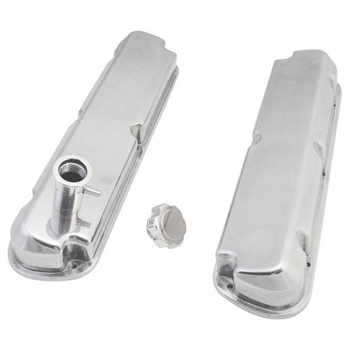 Mustang 5.0L Aluminum Valve Covers Polished (86-93)