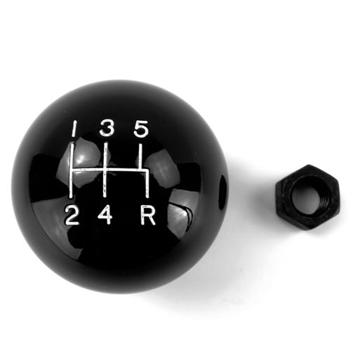 SVE Mustang Black Retro Style Shift Knob (79-04)