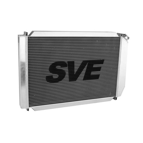 SVE Mustang 5.0L Aluminum Radiator & Fan Assembly  (79-93) - SVE Mustang 5.0L Aluminum Radiator & Fan Assembly  (79-93)