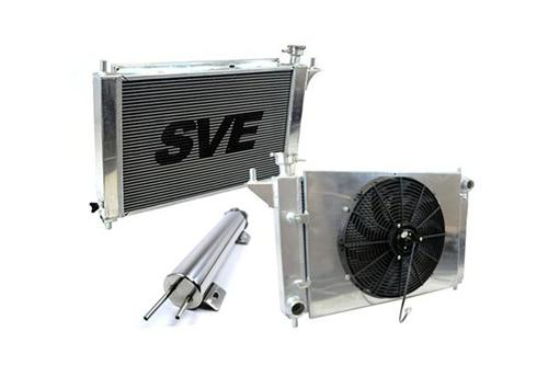 SVE Mustang 5.0L Aluminum Radiator & Fan Shroud for Automatic  (94-95)