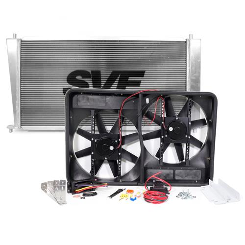 SVE F-150 SVT Lightning Aluminum Radiator & Fan Kit (99-02)