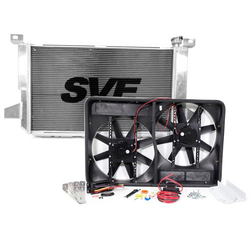 SVE F-150 SVT Lightning Aluminum Radiator & Fan Kit (93-95)