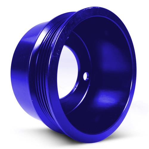 SVE  Mustang Aluminum Underdrive Pulley Kit Blue (79-93)