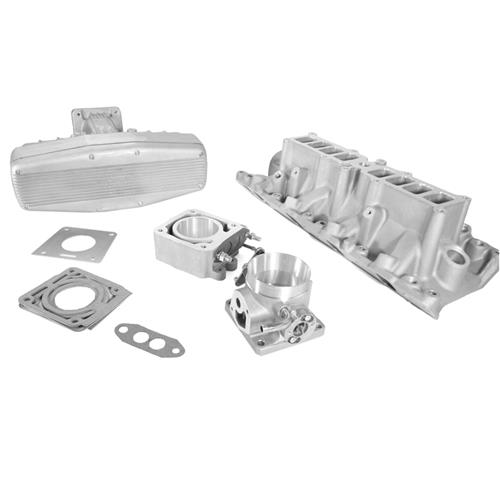 SVE Mustang 5.0 Performance Intake Manifold w/ 70mm Throttle Body & EGR Spacer (86-93) 5.0