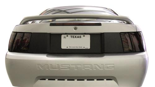 1999-2004 Mustang SVE Smoked Tailight & Rear Blackout Kit.    Consists Of Sve-9904T And Sve-9904Rb