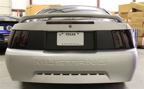 SVE Mustang Trunklid Blackout Flat Black (99-04)
